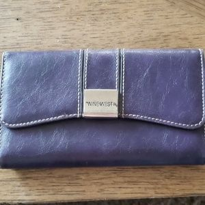 Nine West Purple Wallet